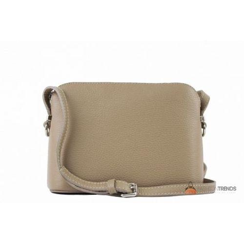 Итальянская кожаная сумка DIVAS Violetta TR952 тауп
