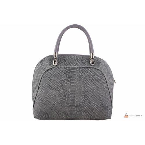 Итальянская кожаная сумка DIVAS CARLA.P M8816 серая
