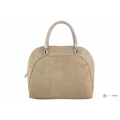 Итальянская кожаная сумка DIVAS CARLA.P M8816 тауп