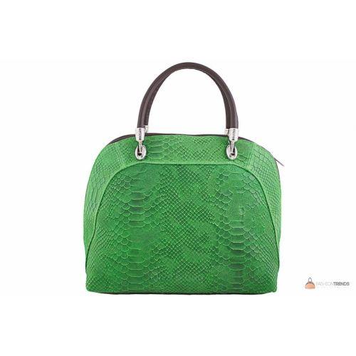 Итальянская кожаная сумка DIVAS CARLA.P M8816 зеленая