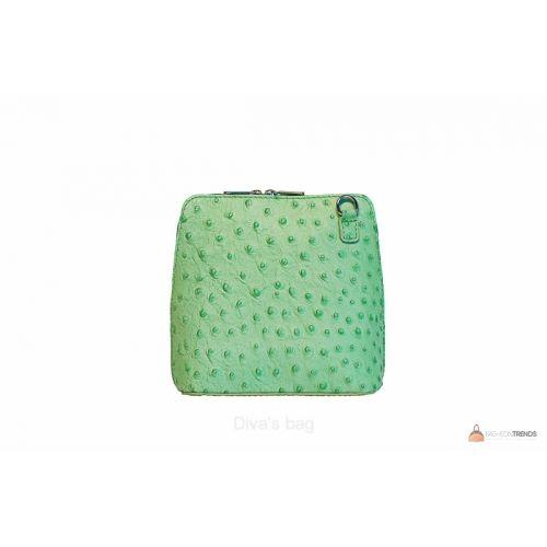 Итальянская кожаная сумка DIVAS GRETA P2279 зеленая