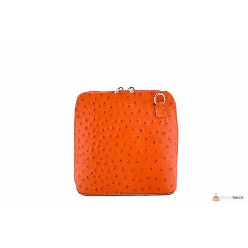 Итальянская кожаная сумка DIVAS GRETA P2279 оранжевая