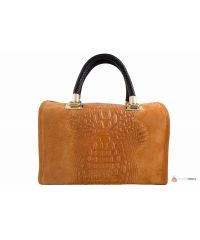 Итальянская кожаная сумка DIVAS MARIANNE M8836 оранжевая