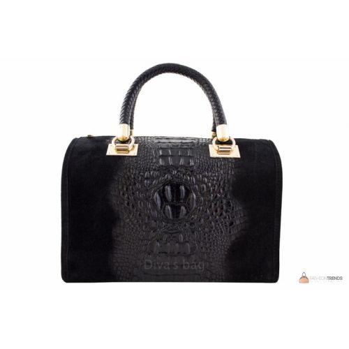 Итальянская кожаная сумка DIVAS MARIANNE M8836 черная