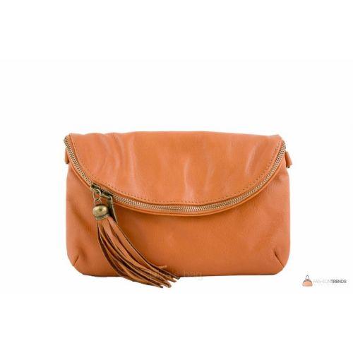Итальянская кожаная сумка DIVAS SABINE TR928 коньячная