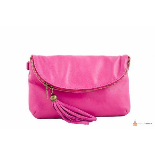 Итальянская кожаная сумка DIVAS SABINE TR928 фуксия