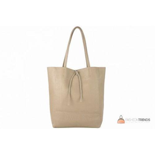 Итальянская кожаная сумка DIVAS Solange S7080 тауп