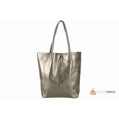 Итальянская кожаная сумка DIVAS Solange S7080 бронзовая