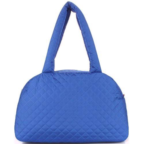 Стеганая сумка-саквояж PoolParty ns4-eco-brightblue