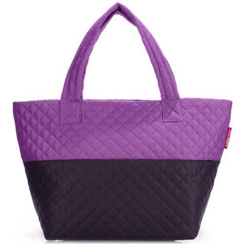 Стеганая сумка PoolParty pp-broadway-violet