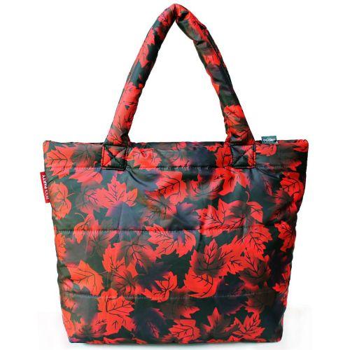 Дутая сумка PoolParty pp4-red-leaves