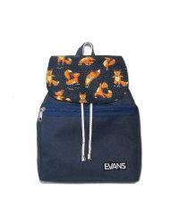 Рюкзак Lily Evans - Foxes синий с лисами