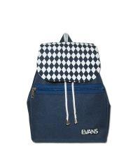 Рюкзак Lily Evans - RMB синий с белыми ромбами