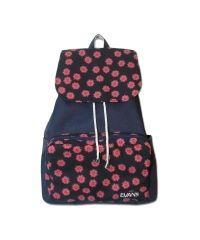 Рюкзак Mary Evans - Daisies синий с красными цветами