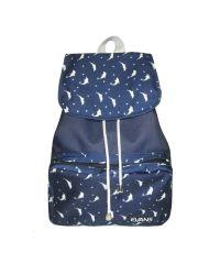 Рюкзак Mary Evans - Dolphins синий с дельфинами