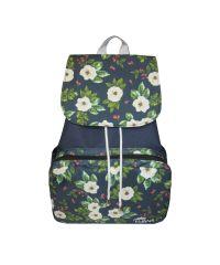 Рюкзак Mary Evans - Flowers синий в цветы