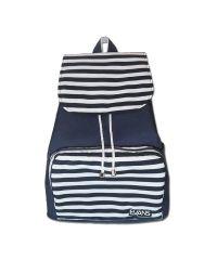 Рюкзак Mary Evans - Sealine синий в белую полоску