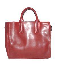 Женская сумка с красивыми ручками 01546562167377red красная