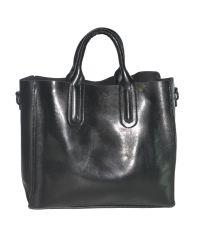 Женская сумка с красивыми ручками 01546562167377black черная