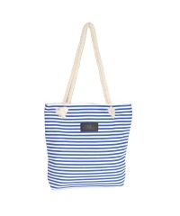 Женская сумка полосатая 01543174167493blue синяя