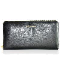 Кожаный кошелек BORSELLINO черный