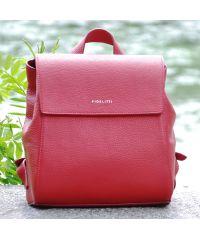 Кожаный рюкзак Estelle красный