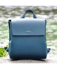 Кожаный рюкзак Estelle морская волна