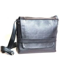 Кожаная сумка Венисон 459-1 черная