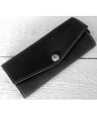 Кожаная ключница A.0001-CH черная