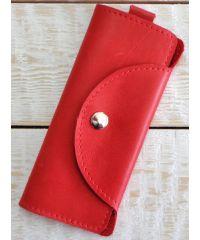 Кожаная ключница A.0002-ALI красная