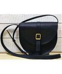 Кожаная сумка B.0002-СН черная