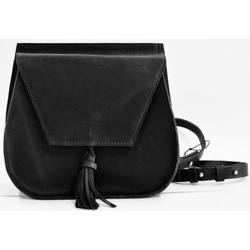 Кожаная сумка B.0008-CH черная