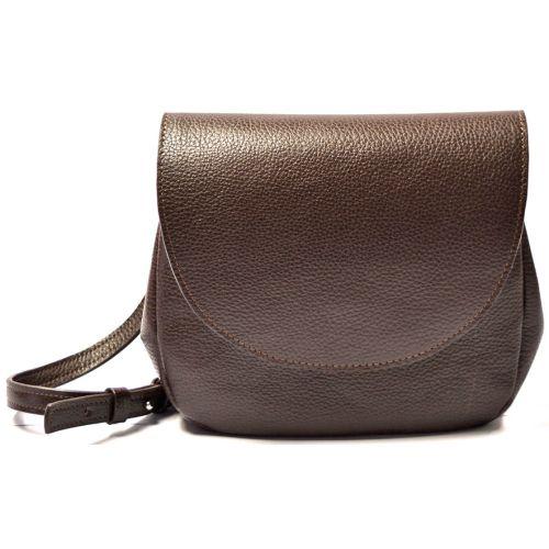 Кожаная сумка GBAGS B.0011 коричневая