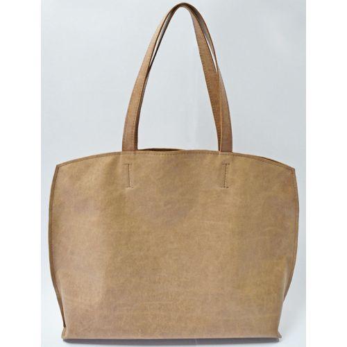 Кожаная сумка GBAGS B.0013-ALI бежевая