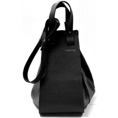 Кожаная сумка GBAGS B.0017-2 черная
