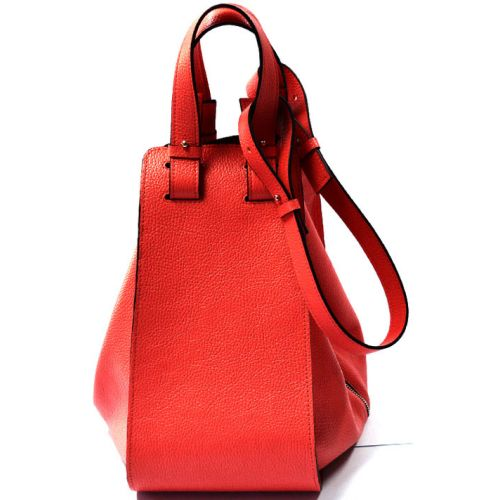 Кожаная сумка GBAGS B.0017-3 красная