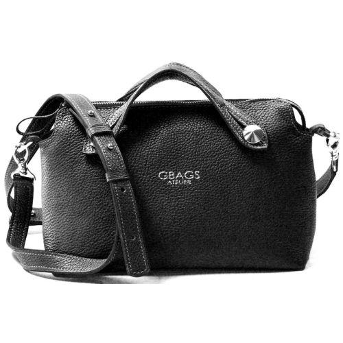 Кожаная сумка B.0019 из черная