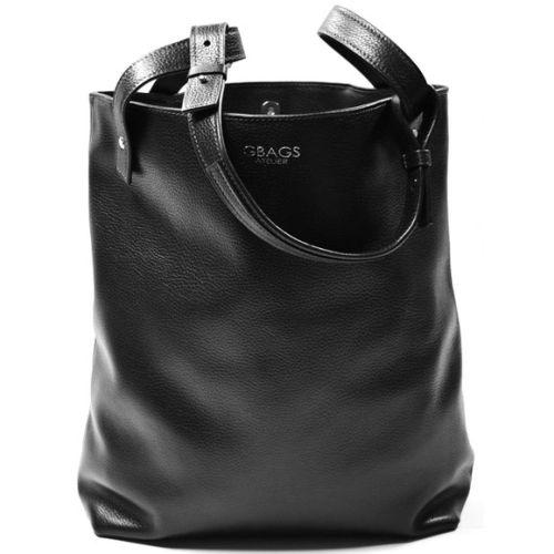 Кожаная сумка GBAGS B.0020-2 черная