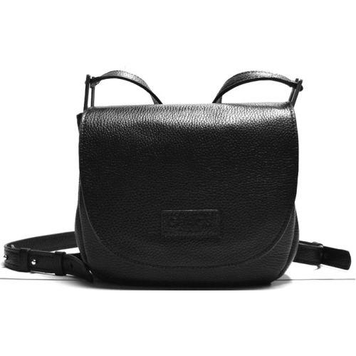 Кожаная сумка B.0021-2 черная