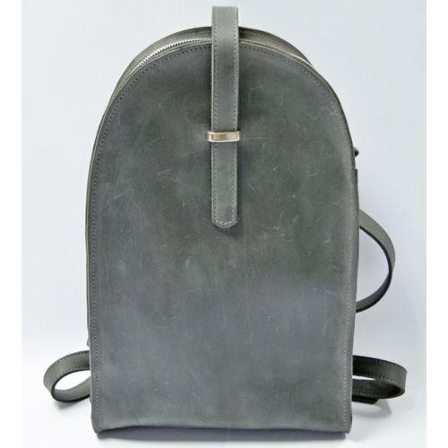 Кожаный рюкзак GBAGS BP.0002 графитовый