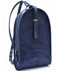 Кожаный рюкзак GBAGS BP.0002 синий