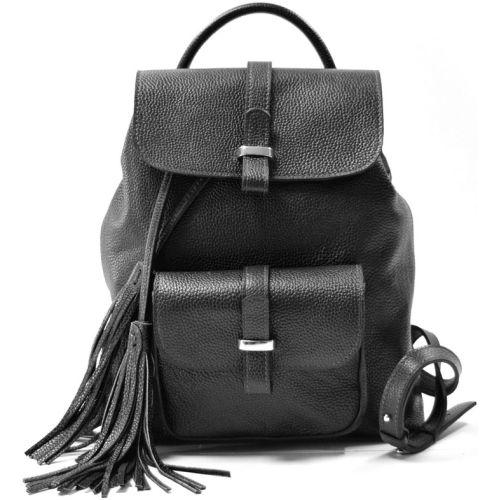 Кожаный рюкзак GBAGS BP.0003 черный