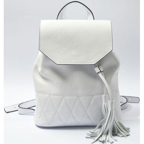 Кожаный рюкзак GBAGS BP.0004 белый