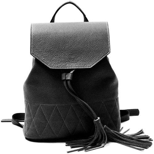 Кожаный рюкзак GBAGS BP.0004 черный