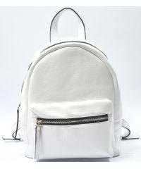 Кожаный рюкзак GBAGS BP.0005 белый