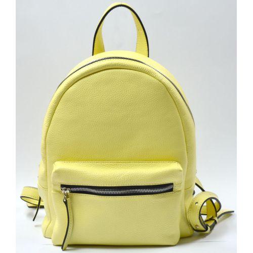Кожаный рюкзак GBAGS BP.0005 лимонный