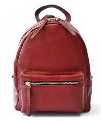 Кожаный рюкзак GBAGS BP.0005 бордовый