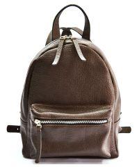 Кожаный рюкзак GBAGS BP.0005 коричневый