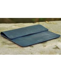 Кожаный чехол для iPad C015 синий