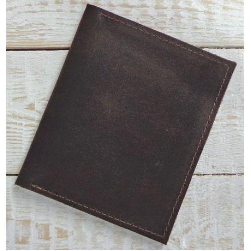 Кожаная обложка для водительских прав C016 коричневая